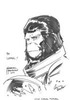Astronaut Cornelius [Escape from the Planet of the Apes] (Gabriel HARDMAN), Comic Art