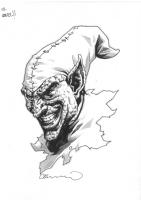 Green Goblin (Lee BERMEJO), Comic Art