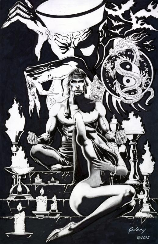 Shang-Chi, Mystic Warrior (Paul GULACY) Comic Art