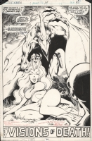 Uncanny X-Men #114 Page 31 Splash - Savage Land Comic Art
