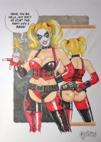 Harley Quinn - Let's start the party with a BANG!... Comic Art
