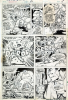 Herb Trimpe Hulk 166 Comic Art