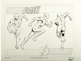 Jose Luis Garcia Lopez Flash Comic Art