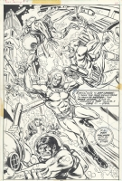 Ross Andru Doc Savage 4 splash Comic Art
