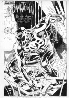 Rick Leonardi Spider-Man 2099 6 splash Comic Art