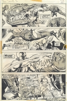 Ross Andru Doc Savage 3 Comic Art
