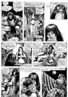 John Buscema Savage Sword of Conan 7 Comic Art