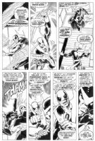 John Byrne Iron Fist 13 Comic Art