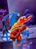 Bill Sienkiewicz Fantastic Four Index #2 cover Comic Art
