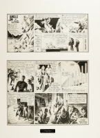 Alex Raymond Flash Gordon and Jungle Jim 1938 sunday Comic Art