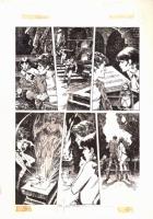 Jose Gonzalez Vampirella page Comic Art