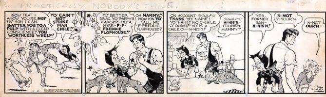 Al Capp Li'l Abner 1938 Comic Art