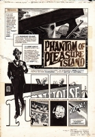Toth - Phantom of Pleasure Island p.1 (Creepy n.75) Comic Art