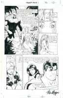Justice League: Created Equal Issue 1 page 12 by Maguire and Rubinstein - Poison Ivy Journeys Into the Green Comic Art