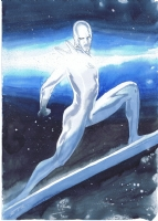 Silver Surfer by Esad Ribic Comic Art