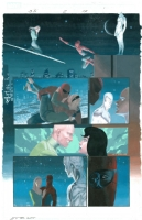 Silver Surfer: Requiem Issue 2 page 17 with Spiderman by Esad Ribic Comic Art