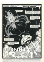 Ghost Rider Issue 9 P. 1 by Saltares and Texeira Comic Art