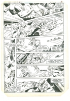 LOST - Supergirl Issue 21 page 13 by Eduardo Barreto Comic Art