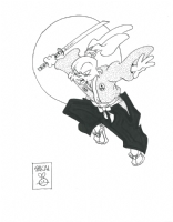 Usagi Yojimbo Pinup by Stan Sakai Comic Art