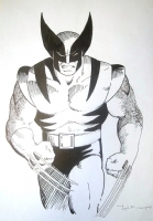 Wolverine X-men Character Design by John Bolton Comic Art