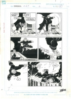 Daredevil: The Man Without Fear Mini - Issue 2 P.25 by Frank Miller and John Romita Jr. Comic Art