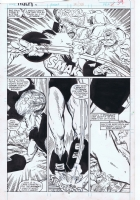 Incredible Hulk Issue 345 page 34 by Todd McFarlane - Hulk vs Leader! Comic Art