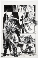 Astro City Old Soldier Full Figure page! Comic Art