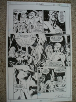 JLA: Act Of God 1, page 23 Comic Art