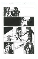 Walking Dead #33, pg. 1, Comic Art