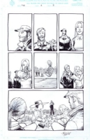 Walking Dead #5, pg. 3, Comic Art