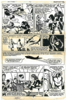 X-Men #142 pg. 28, Comic Art