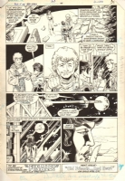 Tales of the Teen Titans #44 pg. 25, Comic Art
