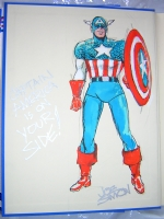 Joe Simon - Captain America, Comic Art