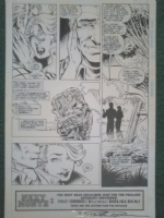 X-Force 37 pg 30 Comic Art
