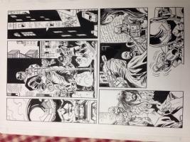 Thunderbolt flashback minus1 fixer submariner hydra agents Comic Art