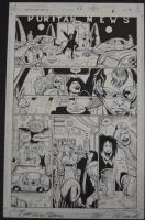 Transmetropolitan #33 page 2. Darick Robertson - Rodney Ramos Comic Art