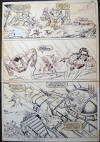 Marvel Graphic Novel #27 � Emperor Doom page 52. Bob Hall   Comic Art