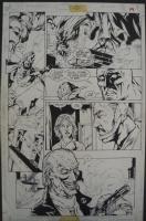 JLA #8 page 19/26. Oscar Jimenez - Chip Wallace Comic Art