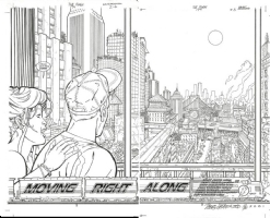 Flash 174 Pages 02-03 Comic Art