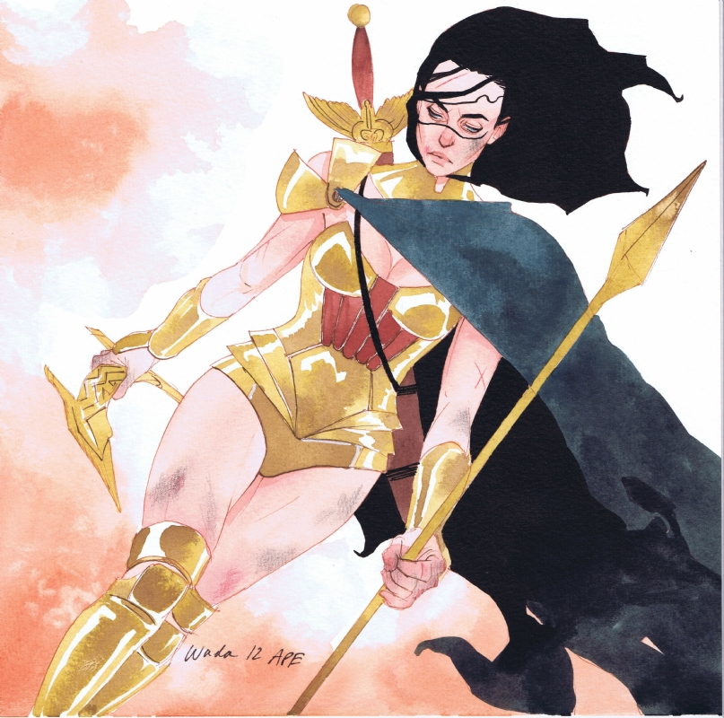 Wonder Woman by Kevin Wada Comic Art