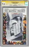 Marvels Project 1 Ares CGC SS 9.6 by Jim Cheung, Comic Art