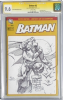 Batman 61 German Edition Batman CGC SS 9.6 by David Finch, Comic Art