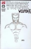 Hero Initiative Wolverine: Weapon X 100 Project by John Cassaday Comic Art