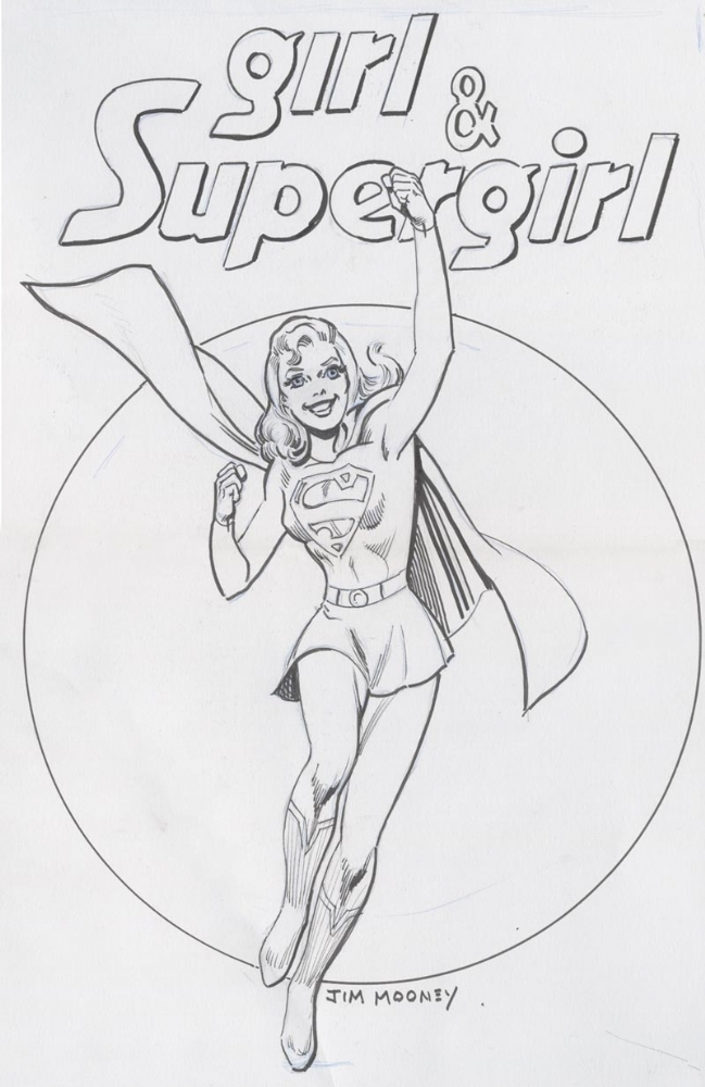 SuperGirl! Comic Art