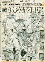 Amazing Spider man 53 splash, Comic Art