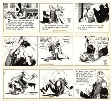 Warren Tufts: Casey Ruggles dailies 1953, Comic Art