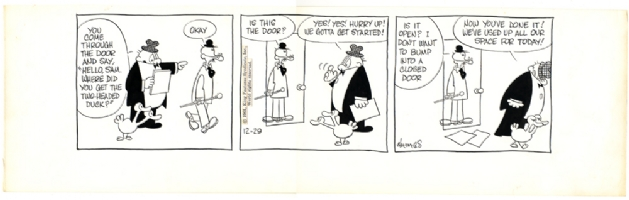 Sam's Strip (Dec 29, 1961), Comic Art