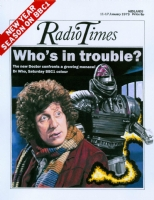 Radio Times Dr Who - Tom Baker 'Robot'. Comic Art
