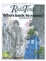 Dr Who and the Monochromian Menace Comic Art