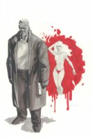 Sin City Marv & Goldie Comic Art